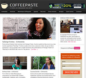 Imag of the site Coffeepaste